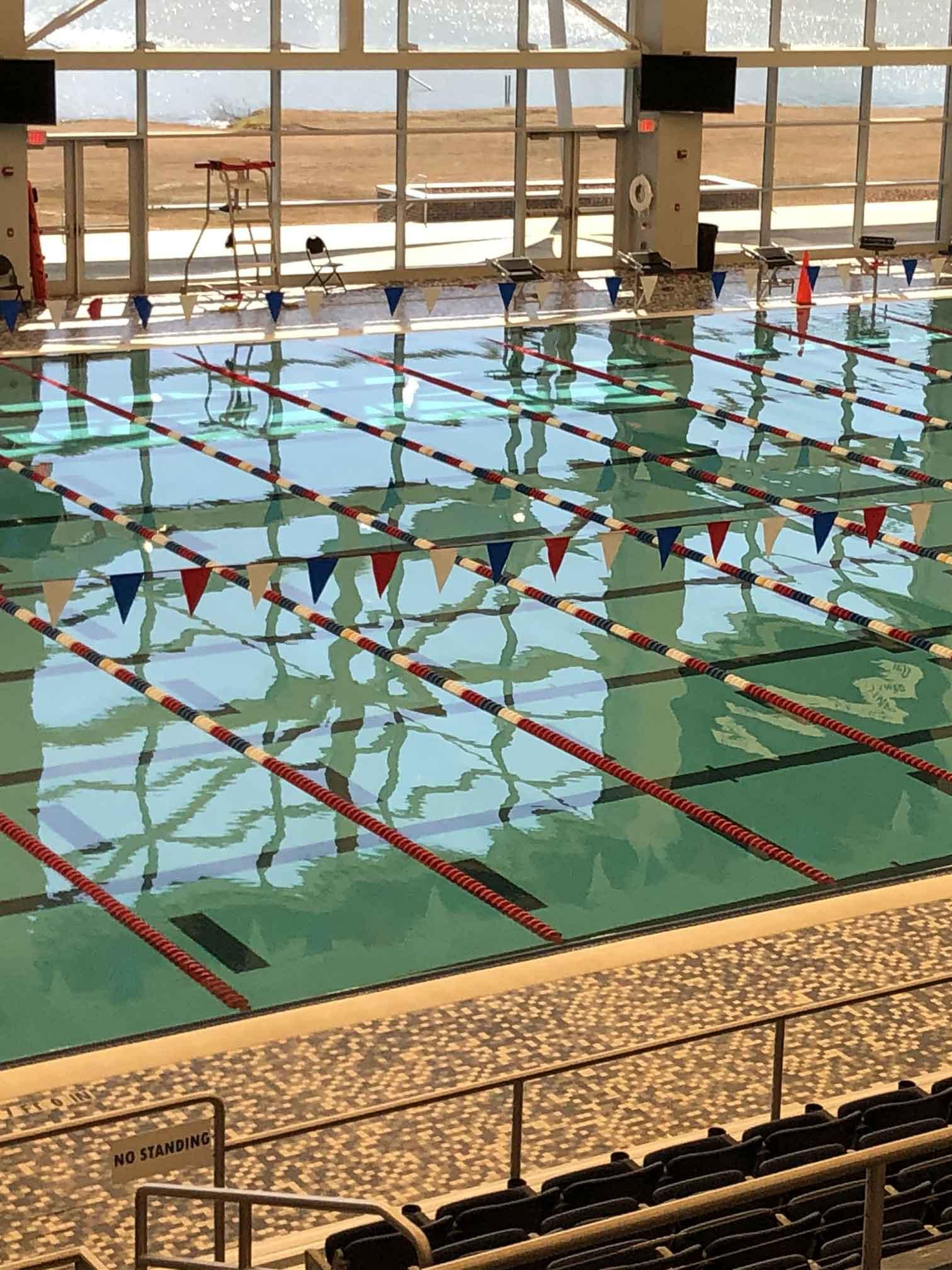 Huntsville aquatic pool & deck
